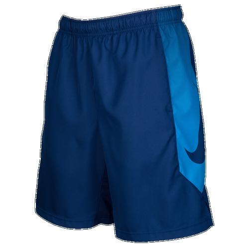 Nike Dry Baseball Shorts - Men's Baseball - Binary Blue/Light Photo Blue 80674429