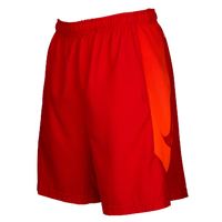 Nike Dry Baseball Shorts - Men's - Red / Orange