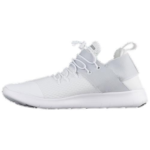 Nike Gratuit Tous Les Chaussures Hommes Blancs