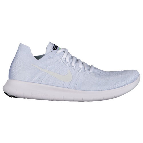 ... low cost nike free rn flyknit 2017 womens running shoes white white  pure platinum black 4ae6f f80e9cf07