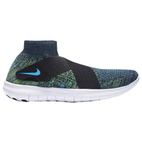 Nike Free RN Motion Flyknit 2017 - Men's - Black / Light Green