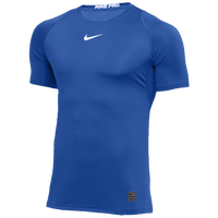 Nike Team Pro Fitted S/S Top - Men's - Blue / Blue