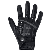 Under Armour Harper Hustle 18 Batting Gloves - Men's - Black
