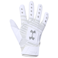 Under Armour Harper Hustle 18 Batting Gloves - Men's - White
