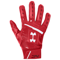 Under Armour Harper Hustle 18 Batting Gloves - Men's - Red