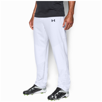 Under Armour Leadoff  III Open Bottom Pants - Men's - All White / White