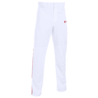 Under Armour Clean Up Piped Pants - Men's - White / Red