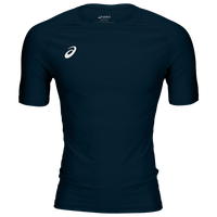 ASICS® Wrestling Compression Short Sleeve Top - Men's - Navy