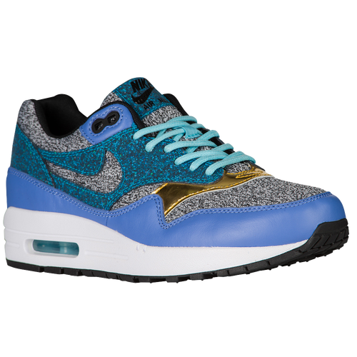 Nike Air Max 1 Black/Polar/White/Blue Lagoon For Women Online Sale