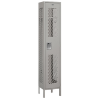 Salsbury Unassembled Single Tier Vented Locker - Grey / Grey