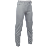 Under Armour Clean Up Open Bottom Pants - Boys' Grade School - Grey / Grey