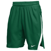 Nike Team Untouchable Speed Shorts - Men's - Dark Green / White