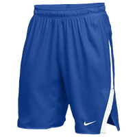 Nike Team Untouchable Speed Shorts - Men's - Blue / White