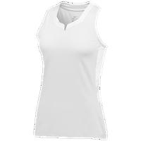 64b2109b87bd Nike Team Untouchable Speed Jersey - Women s - All White   White