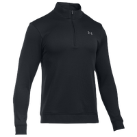Under Armour Storm Golf Sweaterfleece 1/4 Zip - Men's - All Black / Black
