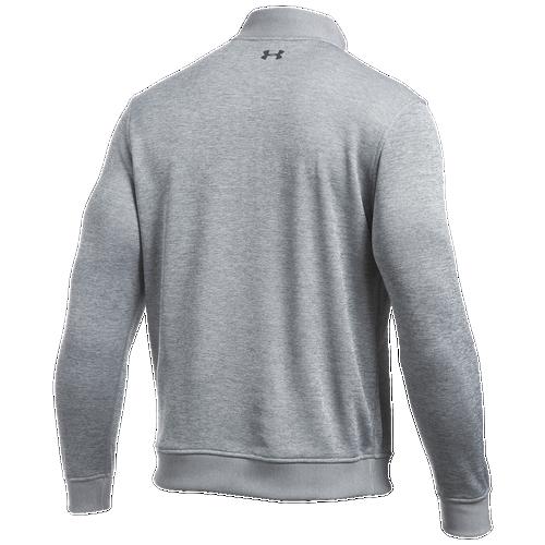 Under Armour Storm Golf Sweaterfleece 1/4 Zip - Men's Golf - Grey Heather/Stealth Grey 81267025