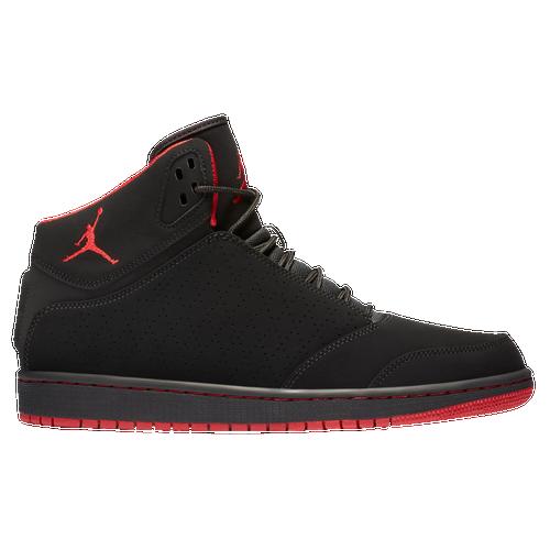 Jordan 1 Flight 5 - Men's Basketball - Black/Gym Red 81433002