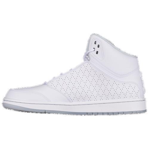 Jordan 1 Flight 5 Premium Men S Basketball Shoes White Pure Platinum
