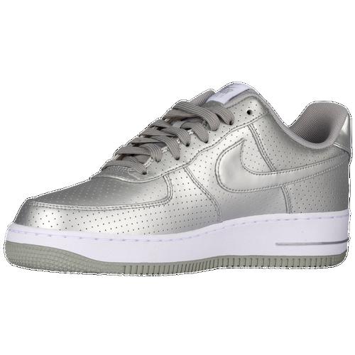 Nike Air Force 1 LV8 - Men's Casual - Metallic Silver/White/Metallic Silver 8152013