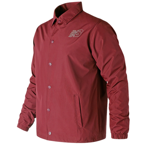 New Balance Classic Coaches Jacket - Men's Casual - Scarlet 81590NBS