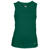 Eastbay Team Compression Track Singlet - Women's - Dark Green / Dark Green