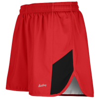 "Eastbay Team 2"" 2 Color Split Track Short 2.0 - Men's - Red / Black"