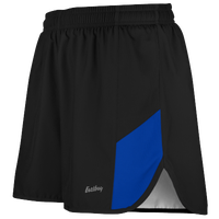 "Eastbay Team 2"" 2 Color Split Track Short 2.0 - Men's - Black / Blue"