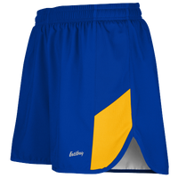 "Eastbay Team 2"" 2 Color Split Track Short 2.0 - Men's - Blue / Gold"