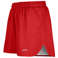 "Eastbay Team 2"" Solid Split Track Short 2.0 - Men's - Red / White"