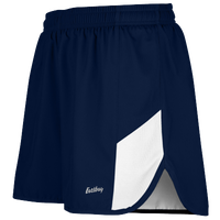 "Eastbay Team 2"" 2 Color Split Track Short 2.0 - Men's - Navy / White"