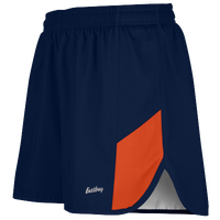 "Eastbay Team 2"" 2 Color Split Track Short 2.0 - Men's - Navy / Orange"