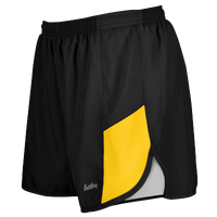 "Eastbay Team 2"" 2 Color Track Shorts - Women's - Black / Gold"