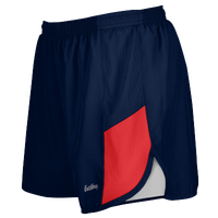 "Eastbay Team 2"" 2 Color Track Shorts - Women's - Navy / Red"