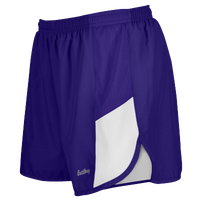"Eastbay Team 2"" 2 Color Track Shorts - Women's - Purple / White"