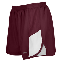 "Eastbay Team 2"" 2 Color Track Shorts - Women's - Maroon / White"