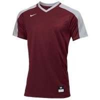 Nike Team Vapor Dri-FIT Game Top - Men's - Maroon / Grey