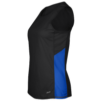Eastbay Team Two Color Singlet - Women's - Black / Blue