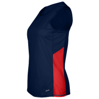 Eastbay Team Two Color Singlet - Women's - Navy / Red