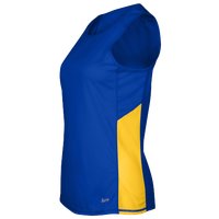 Eastbay Team Two Color Singlet - Women's - Blue / Gold