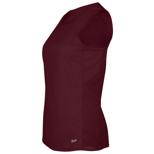 Eastbay Team Solid Track Singlet - Women's Track & Field - Dark Maroon 8190403