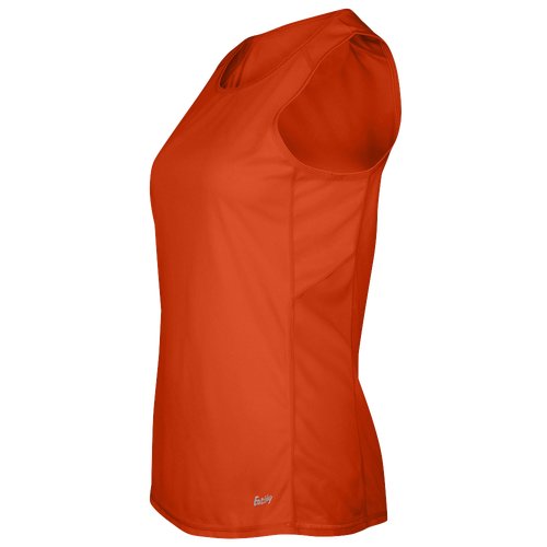 Eastbay Team Solid Track Singlet - Women's Track & Field - Orange 8190703