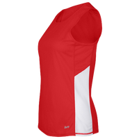 Eastbay Team Two Color Singlet - Women's - Red / White