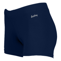 "Eastbay Team 3"" Compression Track Shorts - Women's - Navy / Navy"