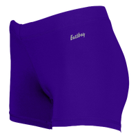 "Eastbay Team 3"" Compression Track Shorts - Women's - Purple / Purple"