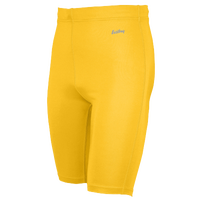 "Eastbay Team 9"" Compression Track Shorts - Men's - Gold / Gold"