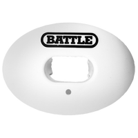 Battle Sports Oxygen Mouthguard - Adult - White / Black
