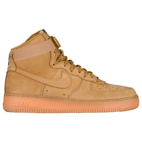 newest f6eab 13405 ... greece nike air force 1 high lv8 mens casual shoes flax outdoor green  gum light brown