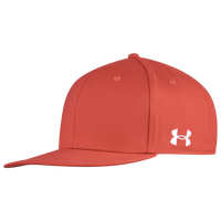 Under Armour Flat Strap Cap - Red / Red