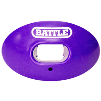 Battle Sports Oxygen Mouthguard - Adult - Purple / White