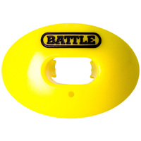 Battle Sports Oxygen Mouthguard - Adult - Yellow / Black